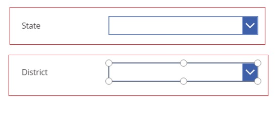 How to create a repeating section in PowerApps |