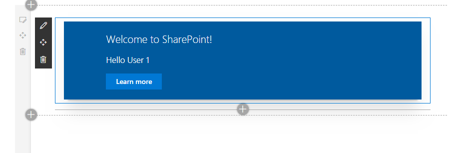 SharePoint Framework React WebPart |