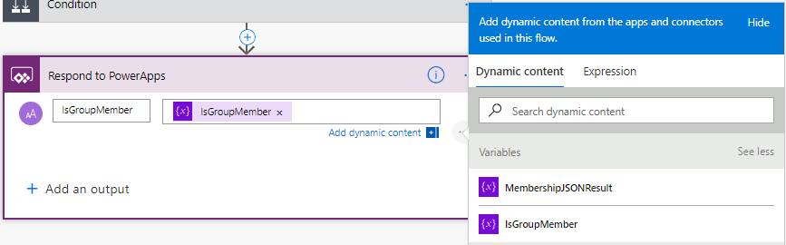 PowerApps Role Based Security using SharePoint Group |