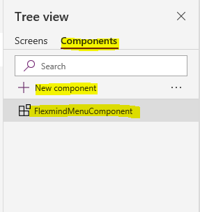Getting started with PowerApps Component