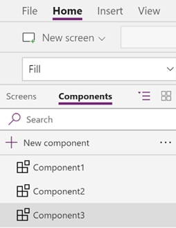powerapps components